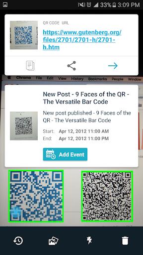 QR & Barcode Reader Free ss2