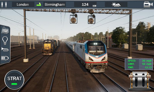 Europe Train Simulator - Train Driver 3D 1.02 screenshots 1