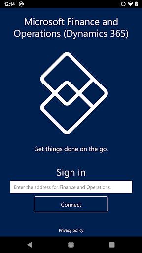 microsoft finance and operations (dynamics 365) screenshot 1