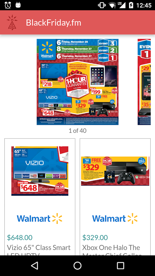 Black Friday 2015 Ads App- screenshot