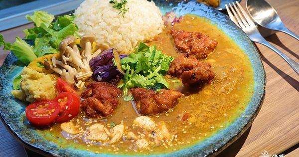 稲町家香料咖哩專門~繽紛豐富又好吃的大阪香料咖喱飯