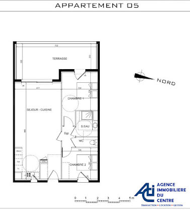 Vente appartement 3 pièces 64,66 m2