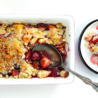 Fruit Crumble Topping.