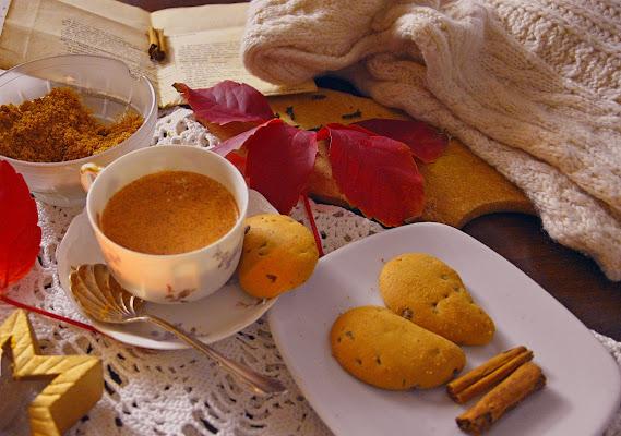 I colori caldi dell'autunno e i primi freddi..