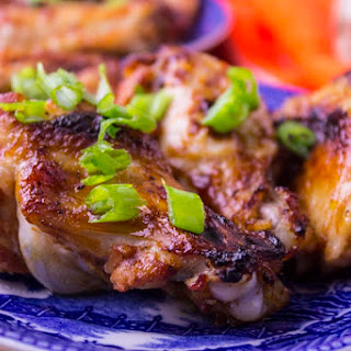Easy Baked Chicken Wings in Sweet & Sour Sauce.