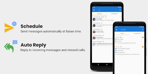 Do It Later – SMS Message Scheduled & Auto Reply (MOD, Premium) v4.1.1 1