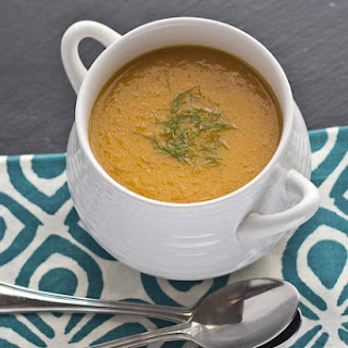 Roasted Carrot & Fennel Soup