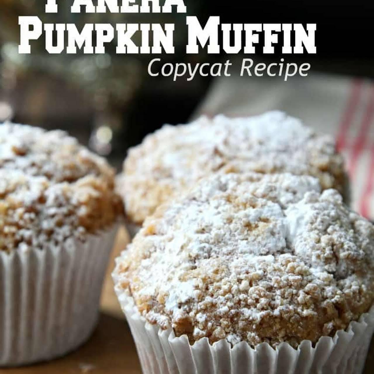 Panera Pumpkin Muffins