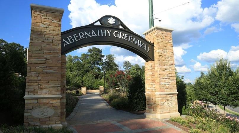 Abernathy Greenway in Sandy Springs, GA