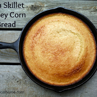 Iron Skillet Honey Cornbread