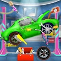 Crazy Mechanic Garage : Car Wash Shop icon
