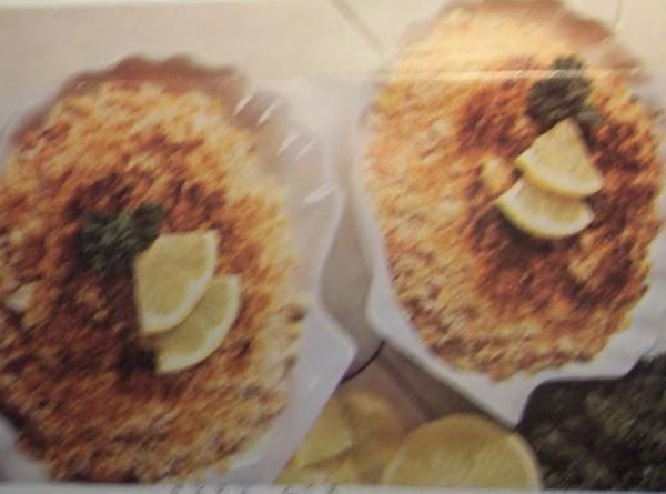 Crab Au Gratin Recipe