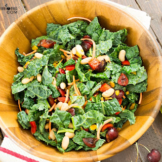 Cherry Kale Salad