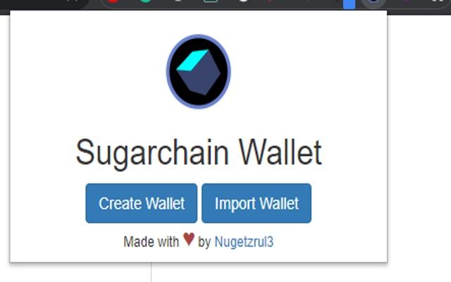 Sugarchain Wallet Extension