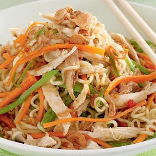 Chicken Noodle Salad.