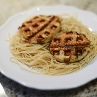 Healthy Eggplant Parmesan--Made in a Waffle Iron!.