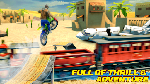 Bike Stunt 2 New Motorcycle Game - New Games 2020 android2mod screenshots 3