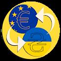 Ukraine Hryvnia Euro converter icon