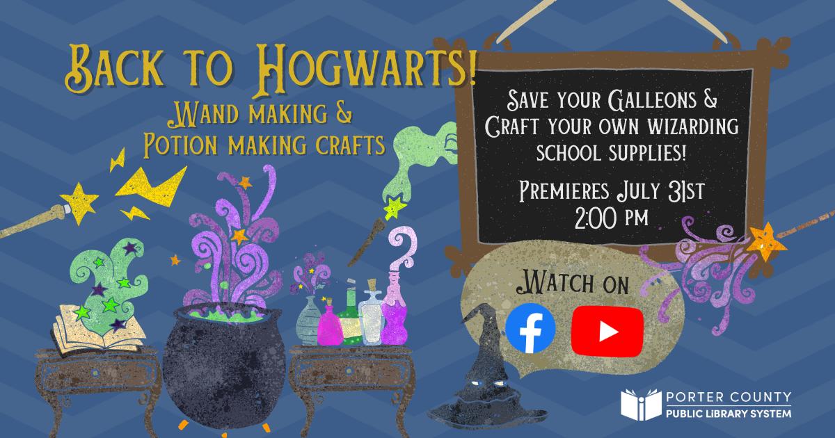 Wizarding school supplies DIY