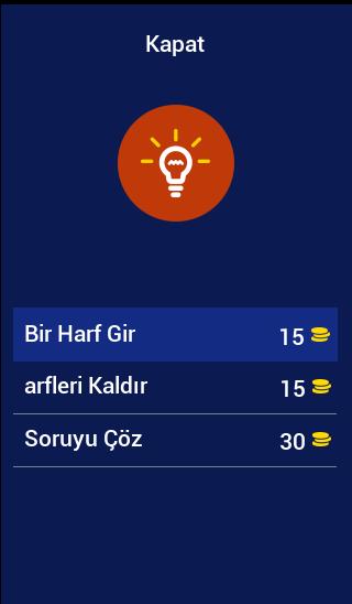 Скриншот Futbol Terimleri Bulmaca