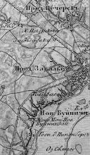 Photo: 1862 Могилев. Российская трехверстка Шуберта 2-й половины XIX в.