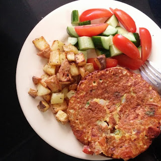 Savory Vegan Omelette.