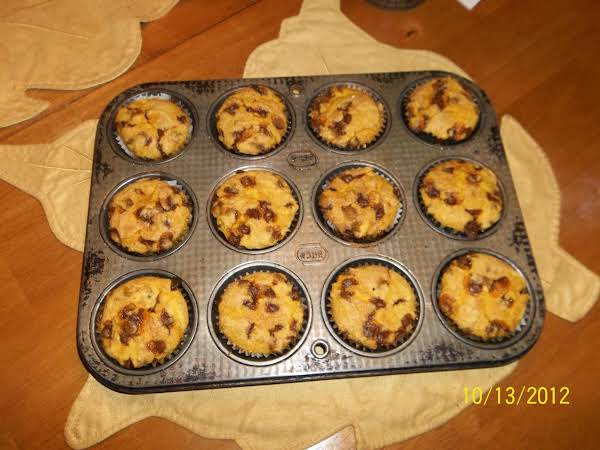 Great Fall Recipe ...pumpkin Muffins With Cinnamon Chips