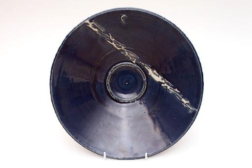 Dan Kelly Ceramic Blue Dish