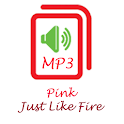 Pink Just Like Fire icon