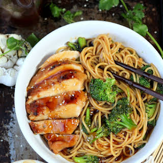 Simple Teriyaki Noodles.