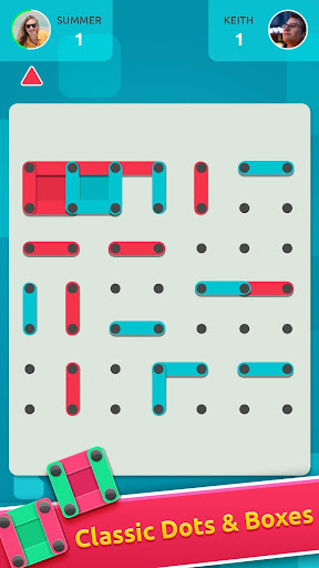 Dots and Boxes Online Multiplayer screenshot 1