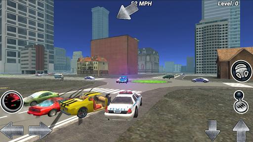 停车场警方追捕通缉