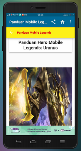 Panduan Mobile Legends 2.2 screenshots 2