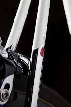 Photo: Sleeved stainless seatstays with teardrop detail, an Ellis trademark!