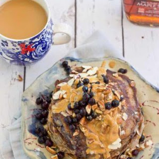 Health Nut Blueberry Pancakes