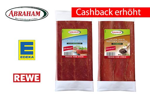 Bild für Cashback-Angebot: Abraham Leichter Genuss 80g - Abraham