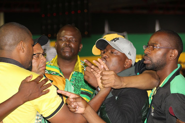 ANC delegates were close to coming to blows during the debate over land expropriation without compensation at the national elective conference at Nasrec in Johannesburg on 20 December 2019.