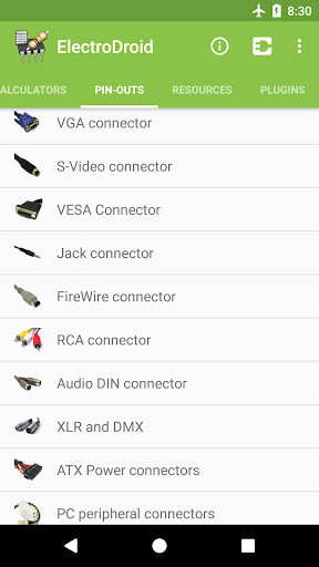 Screenshot for ElectroDroid Pro in United States Play Store
