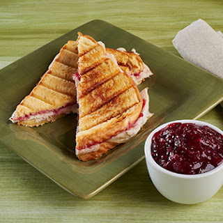 Day-after Thanksgiving Turkey Panini