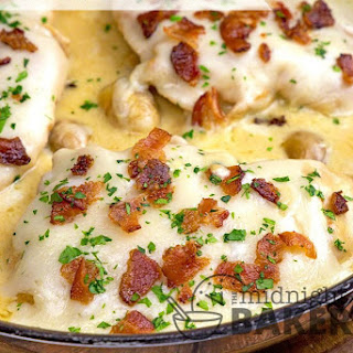 Bacon Swiss Cheese Chicken