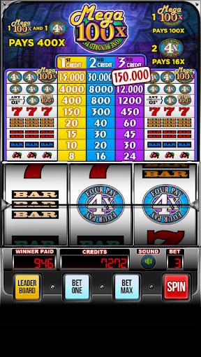 MEGA 100x Slots android2mod screenshots 4