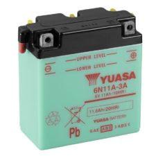 YUASA MC batteri 6V 11Ah 6N11A-3A 4Ah