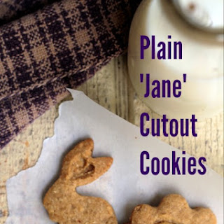 Plain Jane Cutout Cookies