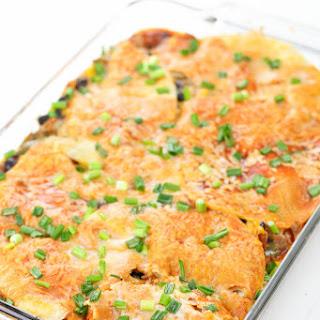 Sweet Potato Mexican Lasagna