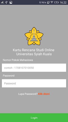 KRS Online Unsyiah screenshot 3
