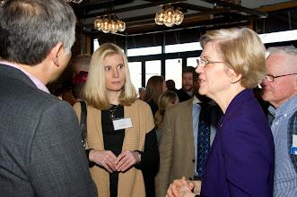Photo: Sen. Warren and Lisa Halpern