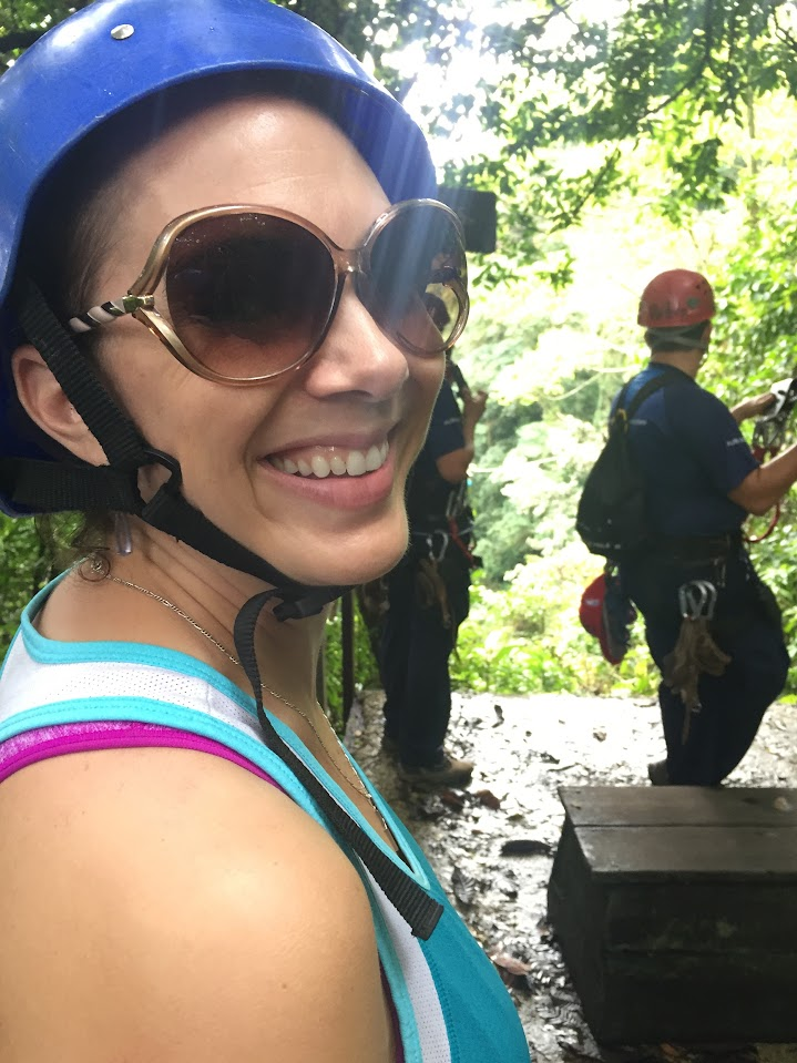 Nervous about rappelling