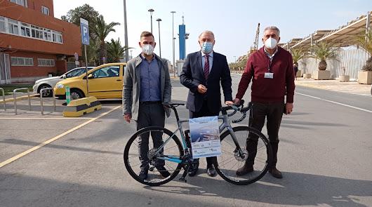 El Puerto de Almería recibirá este domingo a 250 ciclistas