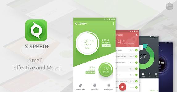 Z Speed+ - Junk Clean, AppLock v2.2.0