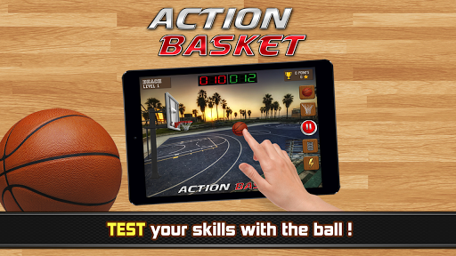 Action Basket - basketball